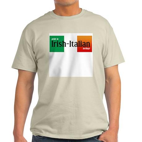 Irish-Italian Ash Grey T-Shirt