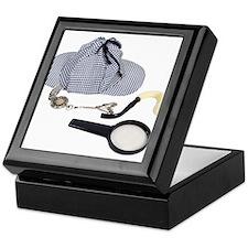 Time for Detective Keepsake Box