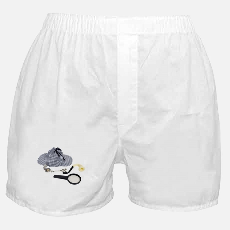 Time for Detective Boxer Shorts