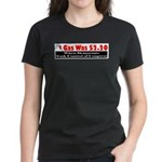 Gas Was $2.20 A Gallon Women's Dark T-Shirt