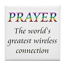 Cute Prayers Tile Coaster