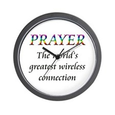 Cute Religion and beliefs Wall Clock