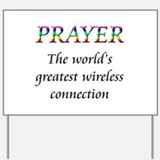 Unique Prayer Yard Sign