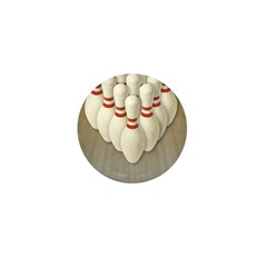 Bowling Mini Button (100 pack)