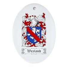 Weyland Ornament (Oval)