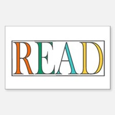 Read - 3 Decal