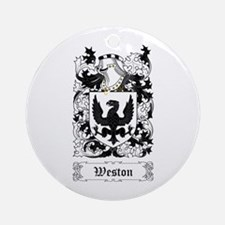 Weston Ornament (Round)