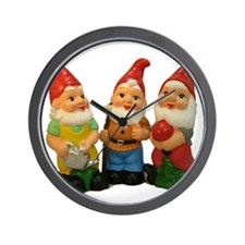 Gnome Gang Wall Clock