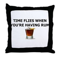 RUM Throw Pillow