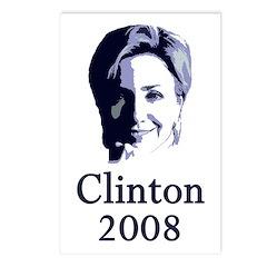 Portrait: Clinton 2008 Postcards (Package of 8)