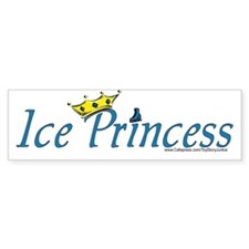 """Ice Princess"" Bumper Bumper Sticker"