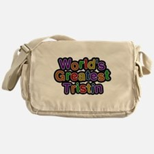 Worlds Greatest Tristin Messenger Bag