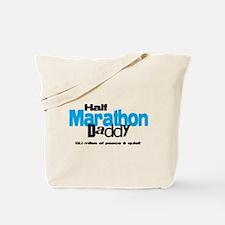 Half Marathon Daddy Peace Qui Tote Bag