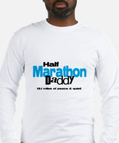 Half Marathon Daddy Peace Qui Long Sleeve T-Shirt