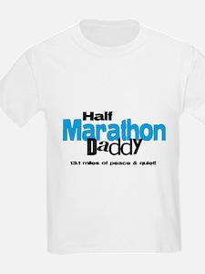 Half Marathon Daddy Peace Qui T-Shirt