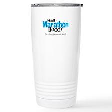 Half Marathon Daddy Peace Qui Travel Mug