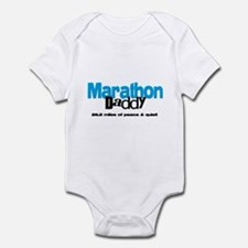 Marathon Daddy Peace Quiet Infant Bodysuit