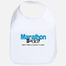 Marathon Daddy Peace Quiet Bib