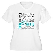 IWearTeal TributeRibbon T-Shirt