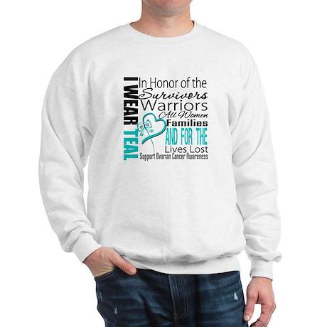 IWearTeal TributeRibbon Sweatshirt