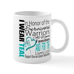 IWearTeal TributeRibbon Mug