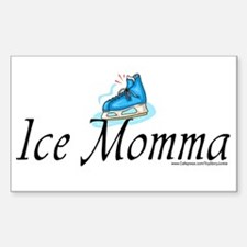 """""""Ice Momma"""" Rectangle Decal"""