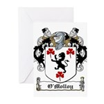 O'Molloy Coat of Arms Greeting Cards (Pk of 10