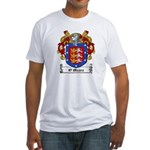 O'Meara Family Crest Fitted T-Shirt