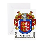 O'Meara Family Crest Greeting Cards (Pk of 10)