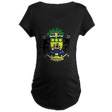 Gabon Coat of Arms Emblem (Front) T-Shirt