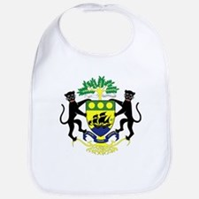 Gabon Coat of Arms Emblem Bib