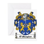 O'Meagher Family Crest Greeting Cards (Package of