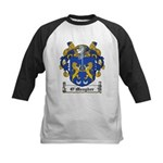 O'Meagher Family Crest Kids Baseball Jersey