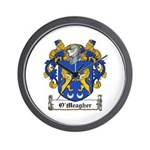 O'Meagher Family Crest Wall Clock