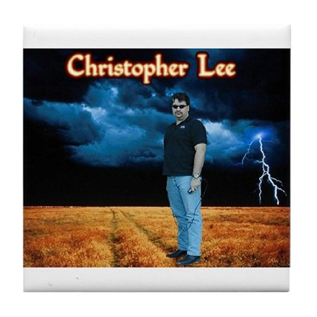 Christopher Lee Tile Coaster