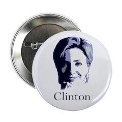 Hillary Clinton 2008 Portrait Button