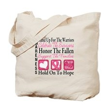 Breast Cancer StandUp Tote Bag