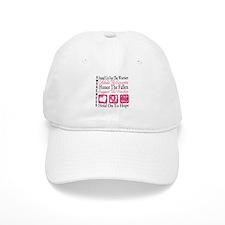 Breast Cancer StandUp Baseball Cap