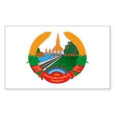 Laos Coat of Arms Emblem Decal