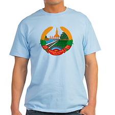 Laos Coat of Arms Emblem T-Shirt