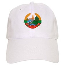 Laos Coat of Arms Emblem Baseball Cap