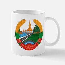 Laos Coat of Arms Emblem Mug