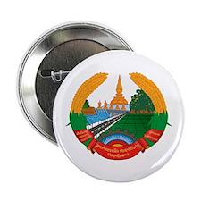 "Laos Coat of Arms Emblem 2.25"" Button"