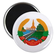 Laos Coat of Arms Emblem Magnet