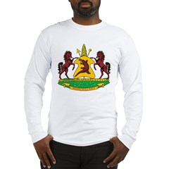 Lesotho Coat Of Arms Long Sleeve T-Shirt