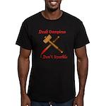 Dead Vampires Men's Fitted T-Shirt (dark)
