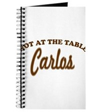 Not At The Table Carlos Journal