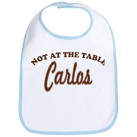 Not At The Table Carlos Bib