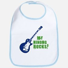 Rock On Ninong! Bib