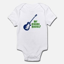 Rock On Ninong! Infant Bodysuit